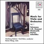 Music for Viola and Orchestra, Vol. 1 - Hamburg Orchestra and Chorus; Rainer Moog (viola); Emil Klein (conductor)