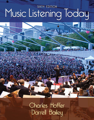 Music Listening Today - Hoffer, Charles, and Bailey, Darrell