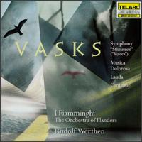 Music of Peteris Vasks - France Springuel (cello); I Fiamminghi, The Orchestra of Flanders; Rudolf Werthen (conductor)