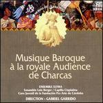 Musique Baroque à la royale Audience de Charcas