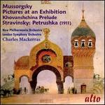 Mussorgsky: Pictures at an Exhibition; Khovanshchina Prelude; Stravinsky: Petrushka (1911)