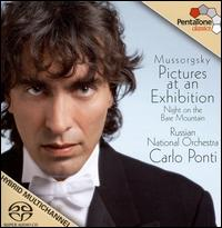 Mussorgsky: Pictures at an Exhibition; Night on the Bare Mountain  - Russian National Orchestra; Carlo Ponti (conductor)