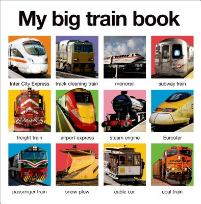 My Big Train Book - Priddy, Roger
