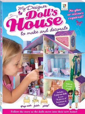 My Designer Doll's House - Hinkler Books PTY Ltd