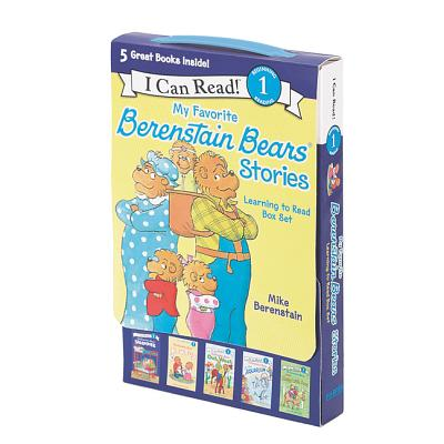 My Favorite Berenstain Bears Stories: Learning to Read Box Set -