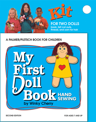 My First Doll Book: Hand Sewing - Cherry, Winky