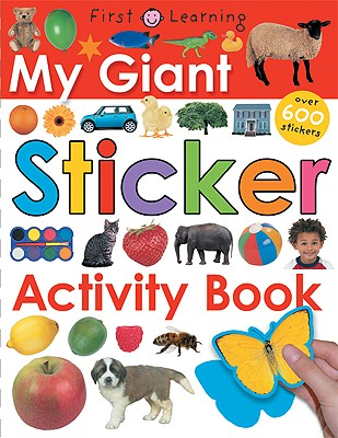 My Giant Sticker Activity Book - Priddy, Roger, and Priddy Bicknell (Creator)