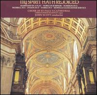 My Spirit Hath Rejoiced - Alan Green (tenor); Ashley Stafford (alto); Christopher Dearnley (organ); Geoffrey Shaw (bass); George Pooley (treble);...