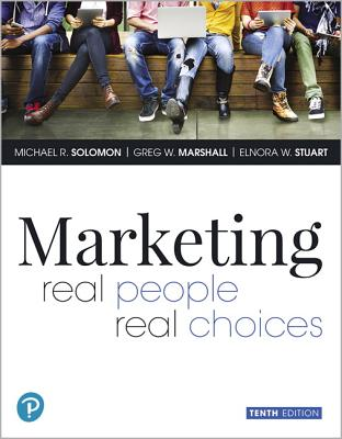 Mylab Marketing with Pearson Etext -- Access Card -- For Marketing: Real People, Real Choices - Solomon, Michael R, and Marshall, Greg W, and Stuart, Elnora W