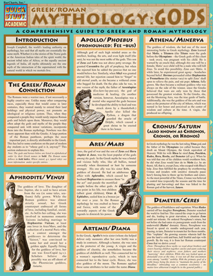Mythology: Greek/Roman Gods: Reference Guide - BarCharts, Inc.