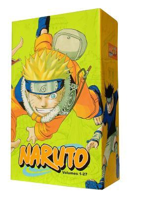 Naruto Box Set 1: Volumes 1-27 with Premium -