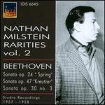 Nathan Milstein Rarities, Vol. 2