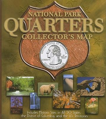 National Park Quarter Archive Map - Publishing, Whitman