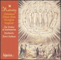 Nativity: Christmas Music from Georgian England - Parley of Instruments; Psalmody
