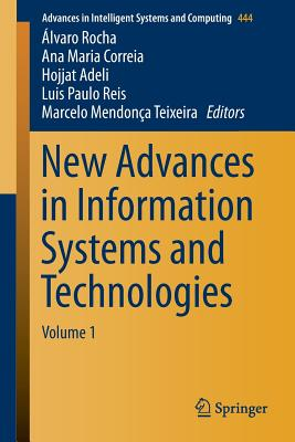 New Advances in Information Systems and Technologies - Rocha, Alvaro (Editor)
