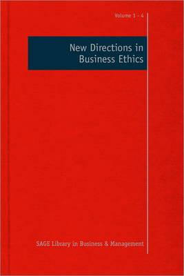 New Directions in Business Ethics - Crane, Andy, Dr. (Editor), and Matten, Dirk (Editor)