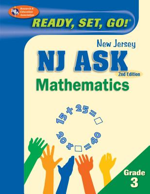 New Jersey Ask Mathematics, Grade 3 - Staff of Research Education Association