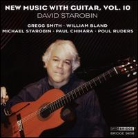 New Music with Guitar, Vol. 10 - Blake Anthony Johnson (cello); Camille Zamora (soprano); David Starobin (guitar); Giovanni Andrea Zanon (violin);...