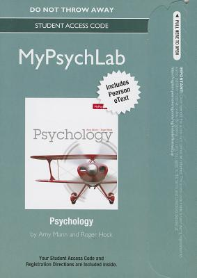 New Mypsychlab with Pearson Etext -- Standalone Access Card -- For Psychology - Marin, Amy, and Hock, Roger R, PhD