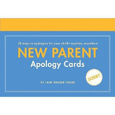 New Parent Apology Cards - Foard, Lane Walker