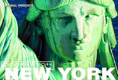 New York Flying High - Yamashita, Michael (Photographer), and Bibb, Elizabeth (Text by)