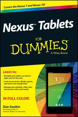 Nexus Tablets For Dummies - Geisler, Sandra, and Gookin, Dan