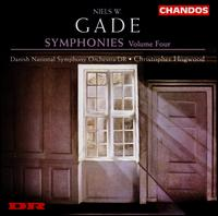 Niels W. Gade: Symphonies, Vol. 4 - Ronald Brautigam (piano); Danish National Symphony Orchestra; Christopher Hogwood (conductor)