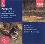 Nielsen: Concertos for clarinet, flute & violin, etc.