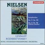 "Nielsen: Symphonies Nos. 5 & 6 ""Sinfonia semplice"""