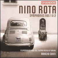 Nino Rota: Symphonies Nos. 1 & 2 - Teatro Regio di Torino Orchestra; Marzio Conti (conductor)