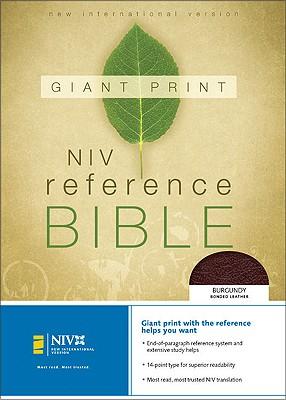 NIV Giant Print Reference Bible - Zondervan Publishing (Creator)