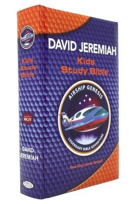 NKJV, Airship Genesis Kids Study Bible, Hardcover: Holy Bible, New King James Version - Jeremiah, David, Dr.
