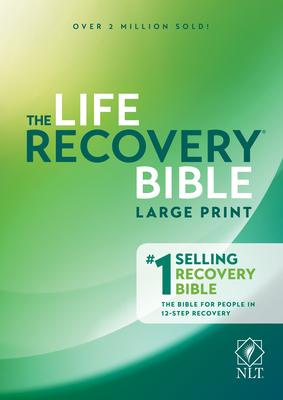 NLT Life Recovery Bible, Large Print - Arterburn, Stephen