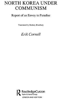 North Korea Under Communism - Erik, Cornell