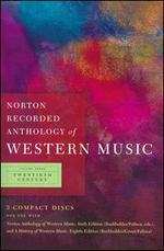 Norton Recorded Anthology of Western Music, Vol. 3: Twentieth Century