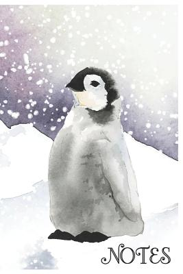 Notes: Cute Penguin Composition Notebook/Journal for Adult/Children Animals Lovers to Writing (6x9 Inch. 15.24x22.86 cm.) Lined Paper 120 Blank Pages (WHITE&BLACK&PURPLE Pattern) - Pets, Sounding