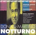Notturno: Music by Donald Martino