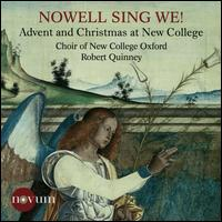 Nowell Sing We! - Ardhan Subramaniam (treble); Nicholas Hampson (tenor); Robert Quinney (descant); Thomas Armstrong (descant);...