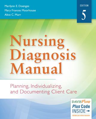Nursing Diagnosis Manual: Planning, Individualizing, and Documenting Client Care - Doenges, Marilynn E, Aprn