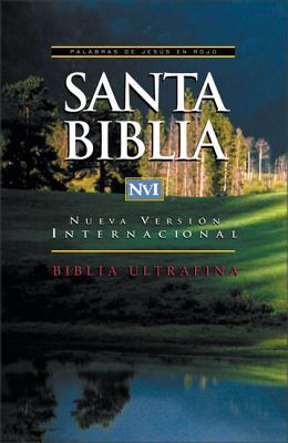 NVI Santa Biblia Ultrafina Con Palabras De Jesus En Rojo - Zondervan