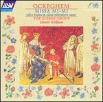 Ockeghem: Missa mi-mi; Salve regina; Alma redemptoris mater - The Clerks' Group (choir, chorus)