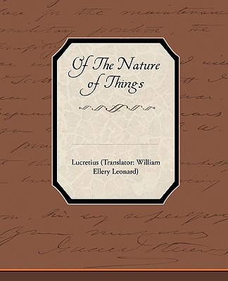Of the Nature of Things - Lucretius