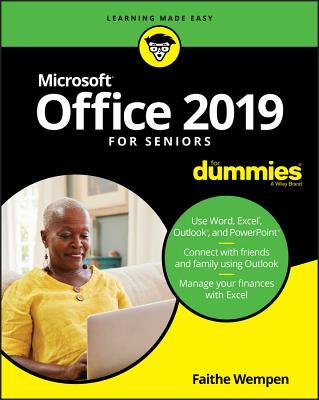 Office 2019 for Seniors for Dummies - Wempen, Faithe, M.A.