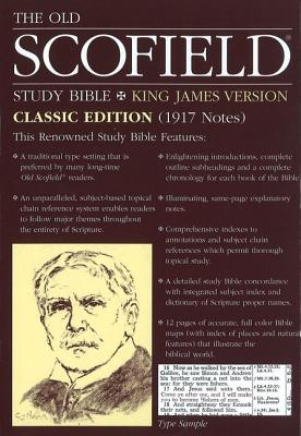 Old Scofield Study Bible-KJV-Classic - Oxford University Press (Creator)