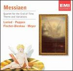 Olivier Messiaen: Quartet for the End of Time; Theme and Variations - Christoph Poppen (violin); Manuel Fischer-Dieskau (cello); Wolfgang Meyer (clarinet); Yvonne Loriod (piano)