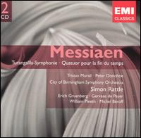 Olivier Messiaen: Turangalîla-Symphonie; Quatuor pour la fin du temps - Aloys Kontarsky (piano); Erich Gruenberg (violin); Gervase de Peyer (clarinet); Karlheinz Zöller (flute);...