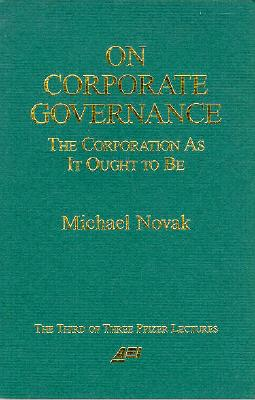 On Corporate Governance - Novak, Michael