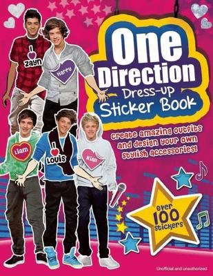 One Direction Dress-Up Sticker Book: A Sizzlin' Pop Heartthrob Sticker Activity Book - Sipi, Claire