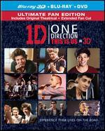 One Direction: This Is Us [3D] [Blu-ray/DVD] - Morgan Spurlock