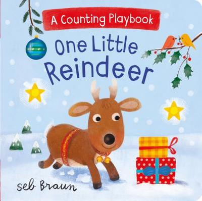 One Little Reindeer: A Counting Playbook -